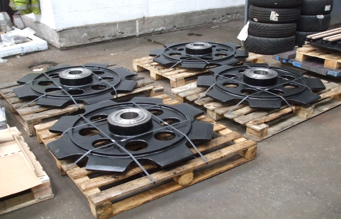 Large Cast Iron Sprockets